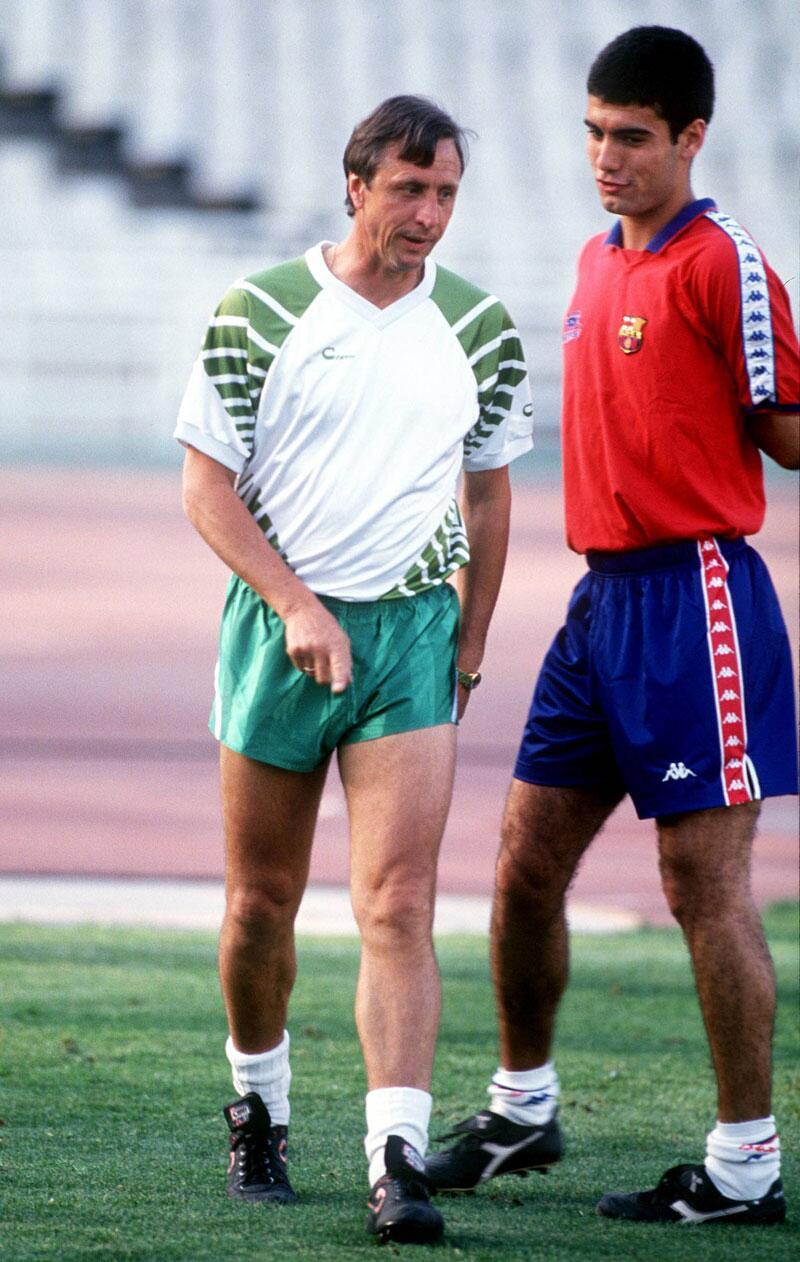 Bild zu Cruyff und sein Ziehsohn
