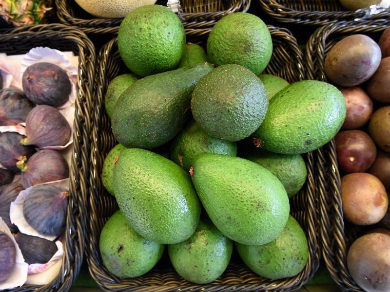 Bild zu Avocados im Korb