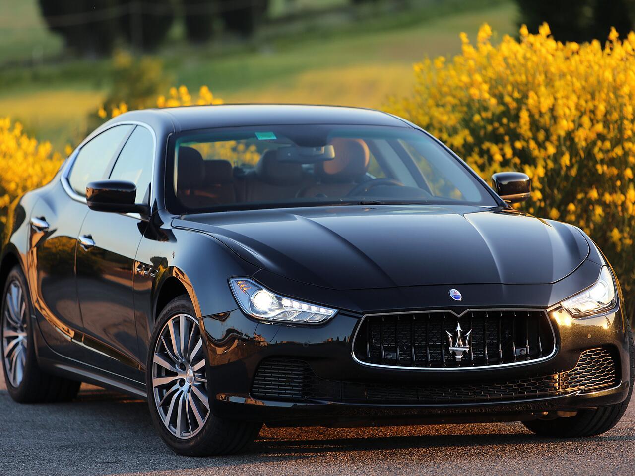 Bild zu Maserati Ghibli, viertürige Limousine mit Dieselmotor