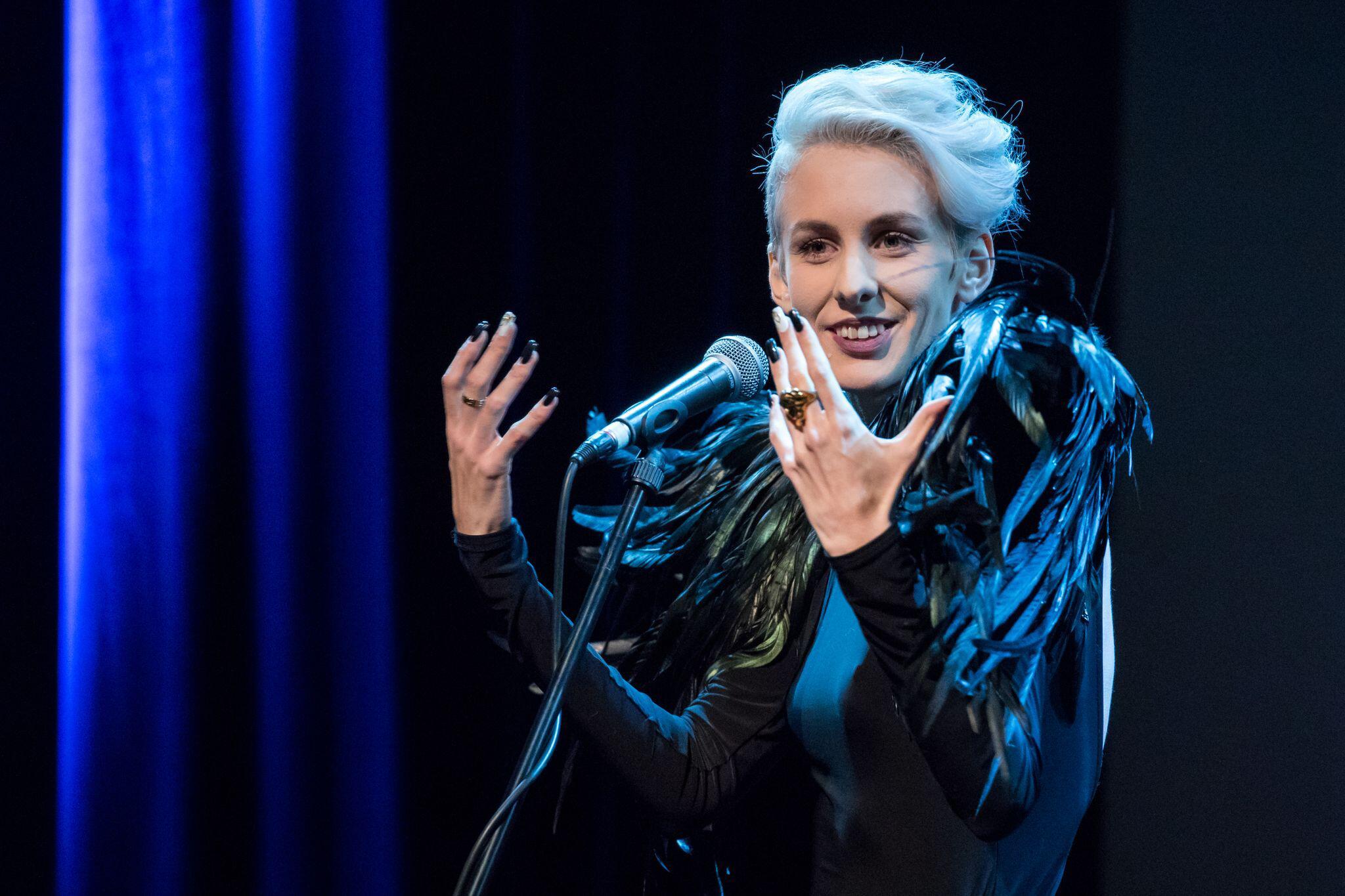 Skandal-Kabarettistin Lisa Eckhart: Zu grenzwertig für Deutschland?
