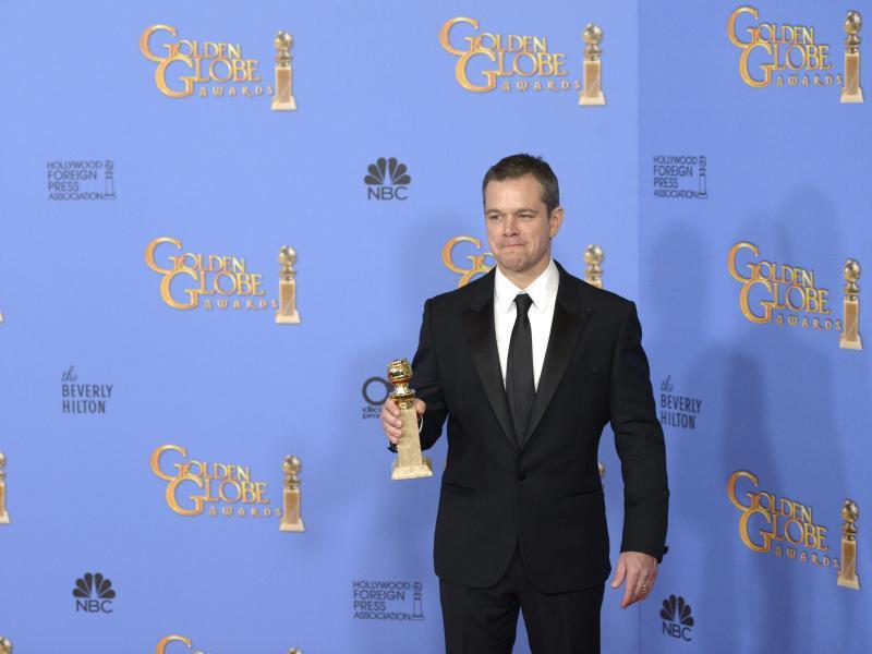 Bild zu Golden Globes - Matt Damon