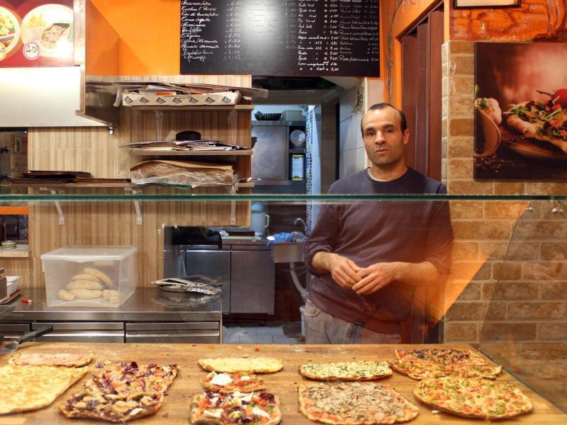 Bild zu Pizzabäcker in Rom