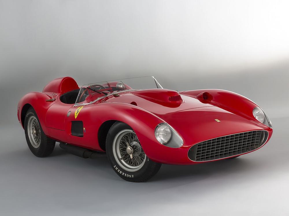 Bild zu 1957 Ferrari 335 S Spider Scaglietti