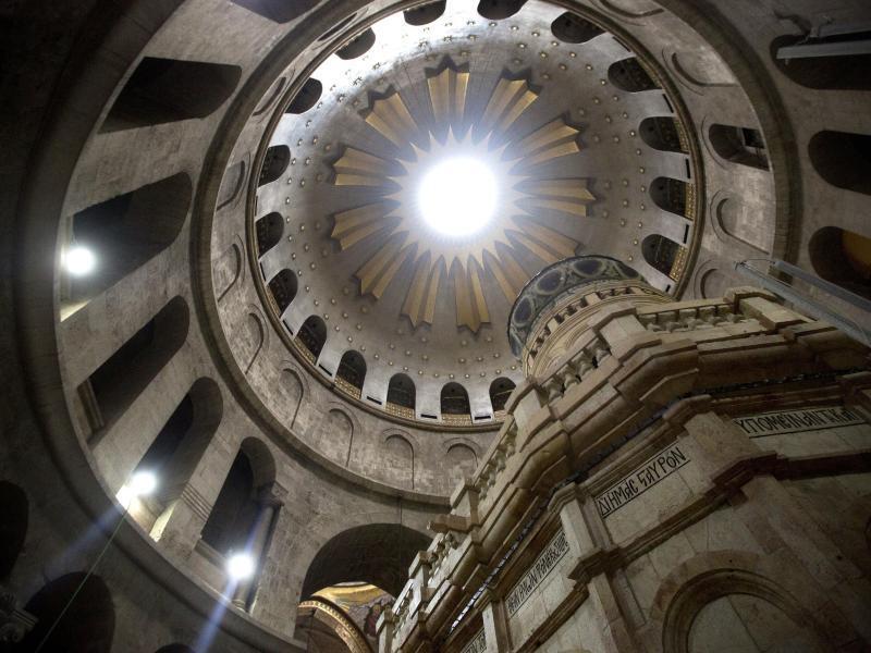 Bild zu Grabeskirche in Jerusalem