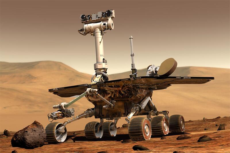 Bild zu Mars-Rover-Opportunity