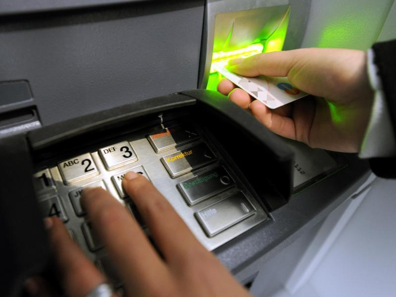Bild zu Vorsicht beim Geldabheben