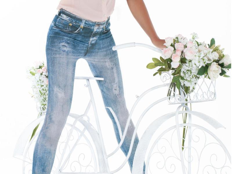 Bild zu Leggins im Jeans-Look