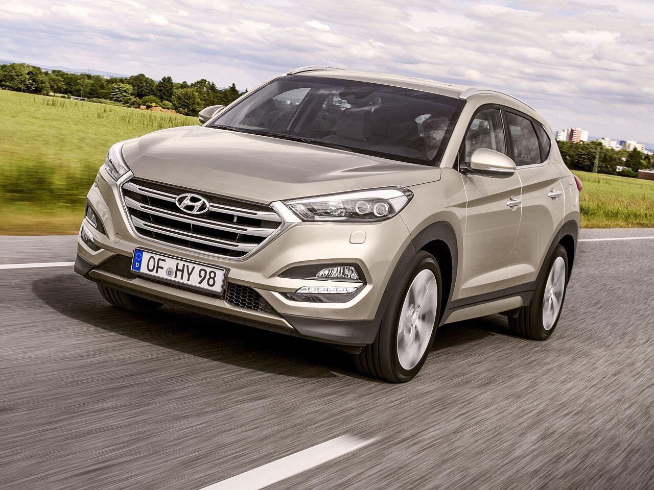 Bild zu Platz 13: Hyundai Tucson