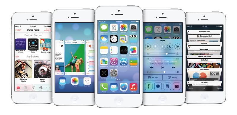 Bild zu iPhone 5 mit iOS 7