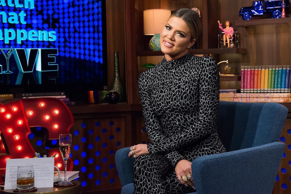 """Bild zu Khloé Kardashian bei der TV-Show """"What happens live"""""""