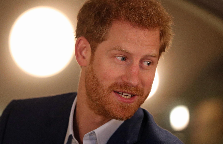 Bild zu Prinz Harry in ungewohnter Rolle als Reporter