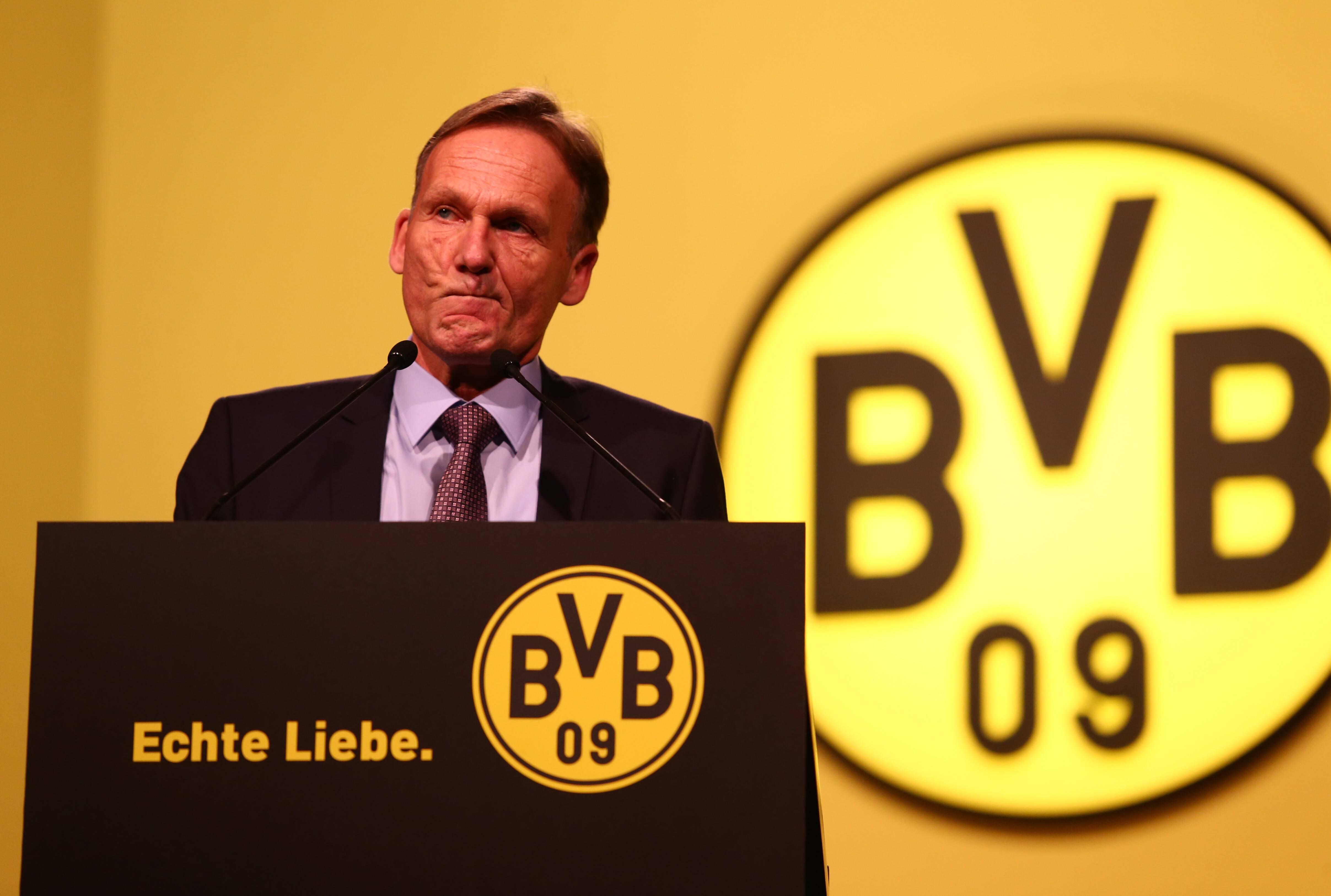 Bild zu Hans-Joachim Watzke, BVB, Borussia Dortmund, Geschäftsführer