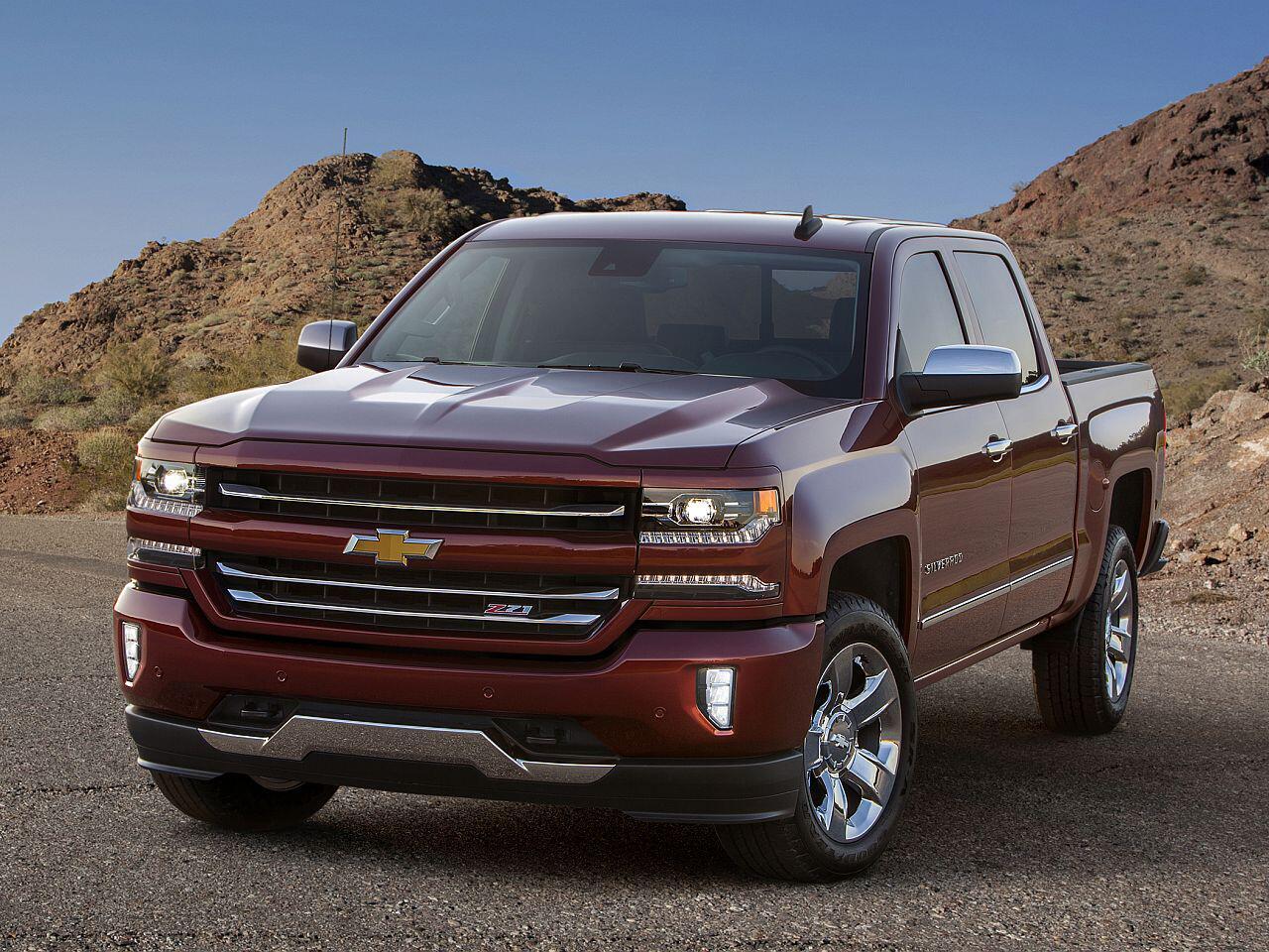 Bild zu Platz 11: Chevrolet Silverado