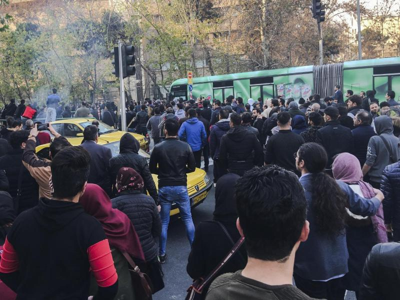 Bild zu Proteste im Iran