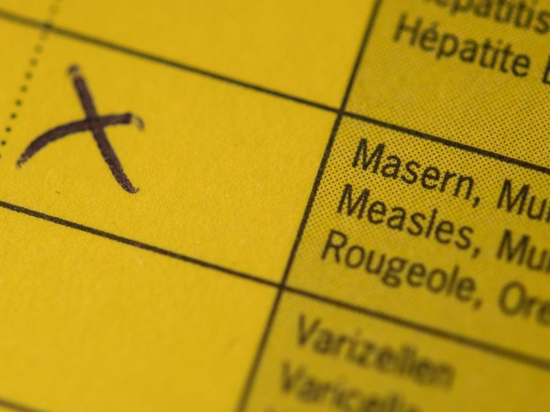 Bild zu Masern-Impfung