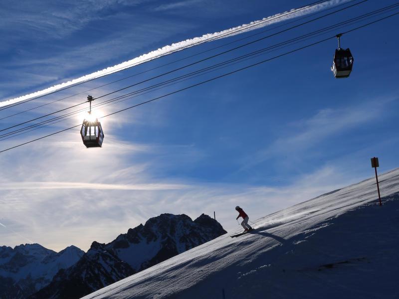 Bild zu Wintersportler auf dem Fellhorn