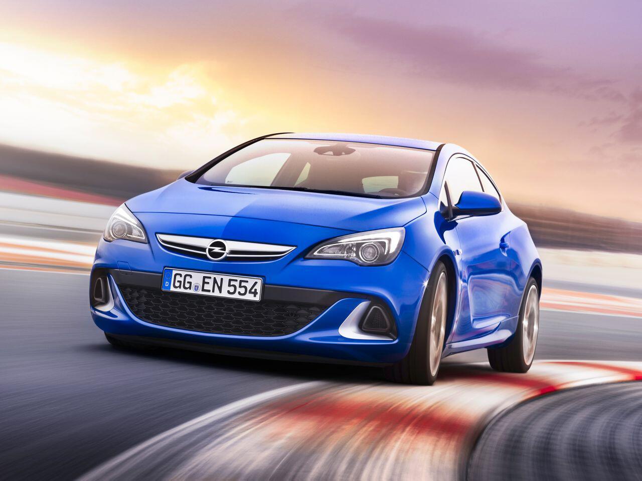 Bild zu 7. Platz: Opel Astra OPC
