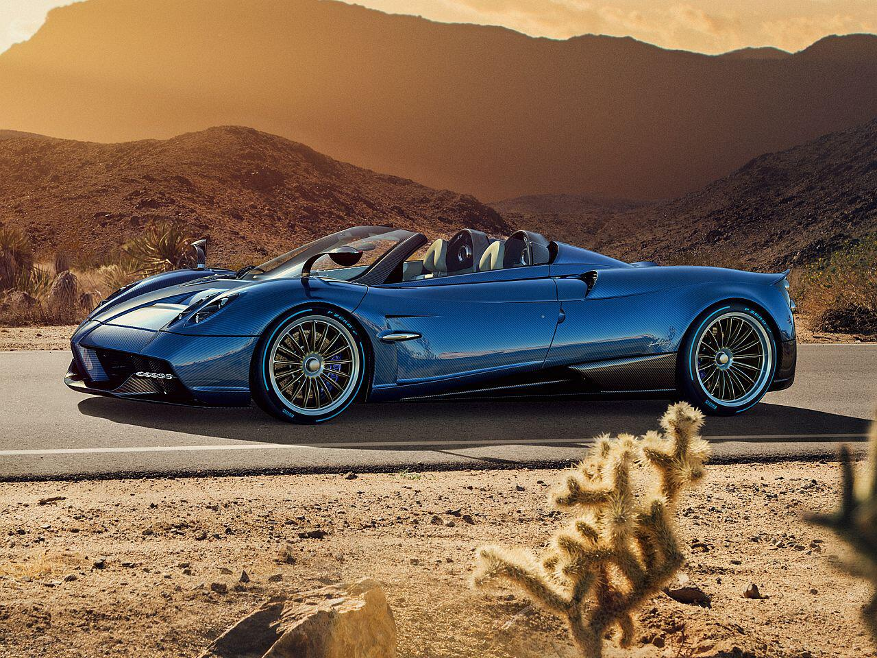 Bild zu Pagani Huayra Roadster