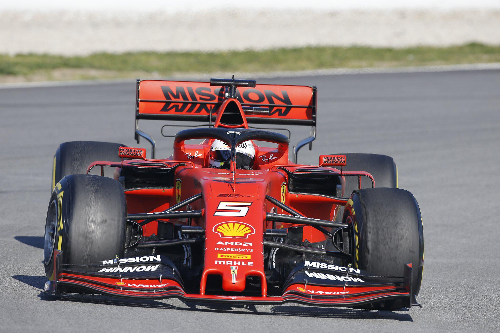 Bild zu Formel 1 Testfahrten