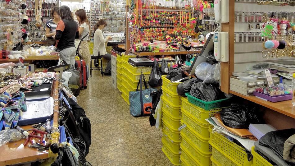 Auf einen Markt in Seoul ging die mittlerweile US-Amerikanerin verloren