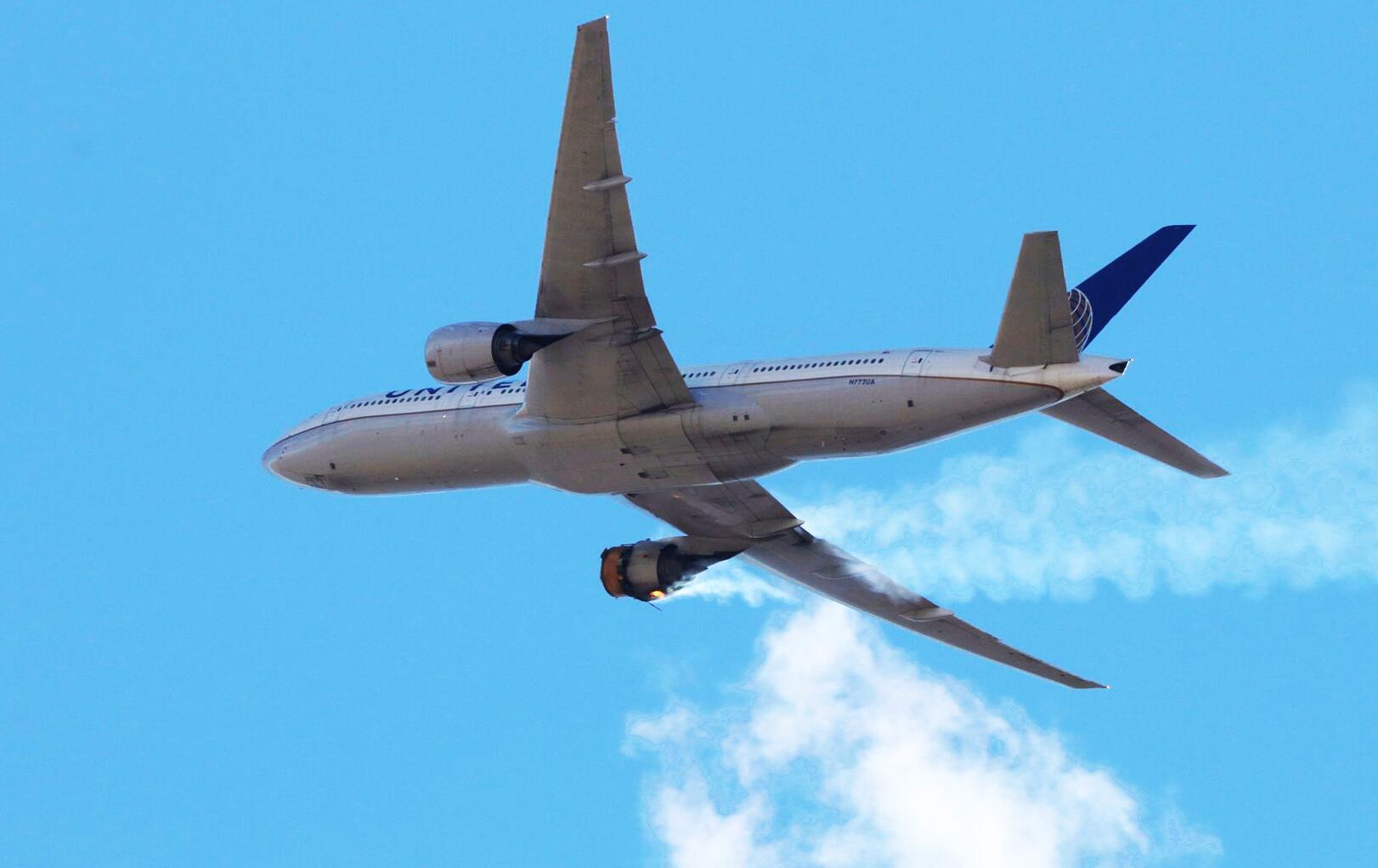 Bild zu USA: Flugzeug verliert Teile über Wohngebieten bei Denver