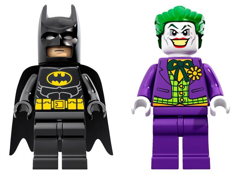 Bild zu Batman und Joker