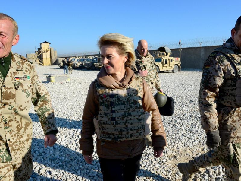 Bild zu Von der Leyen in Afghanistan