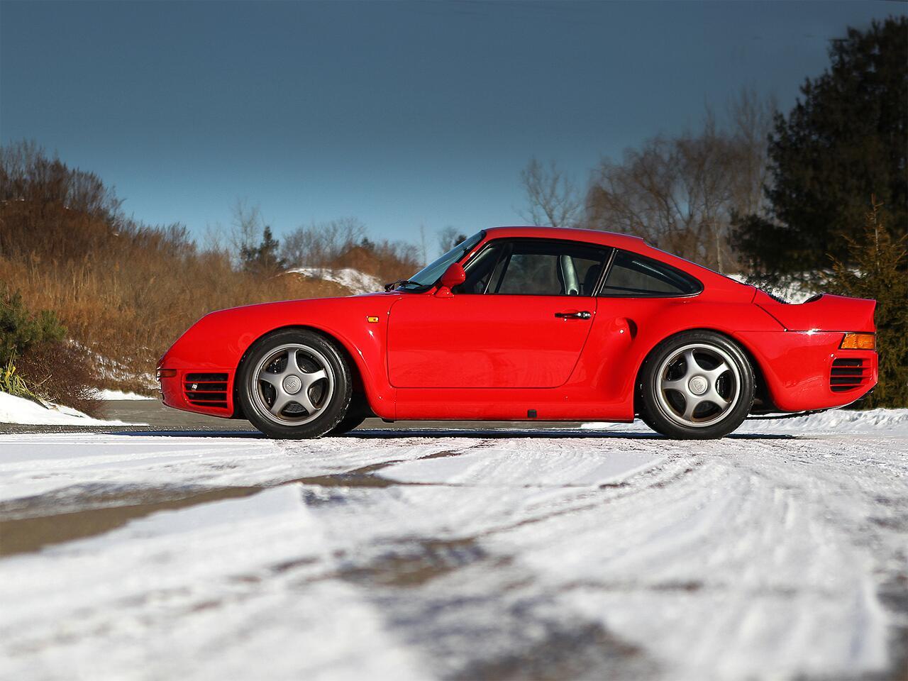 Bild zu 1988 Porsche 959 Sport