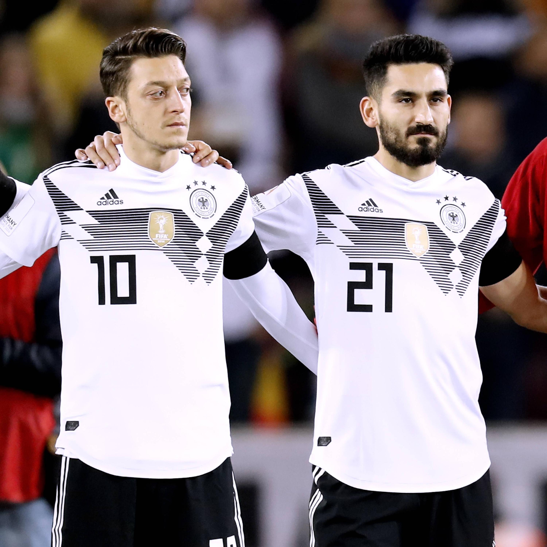Bild zu Mesut Özil, Ilkay Gündogan, Recep Tayyip Erdogan, WM 2018