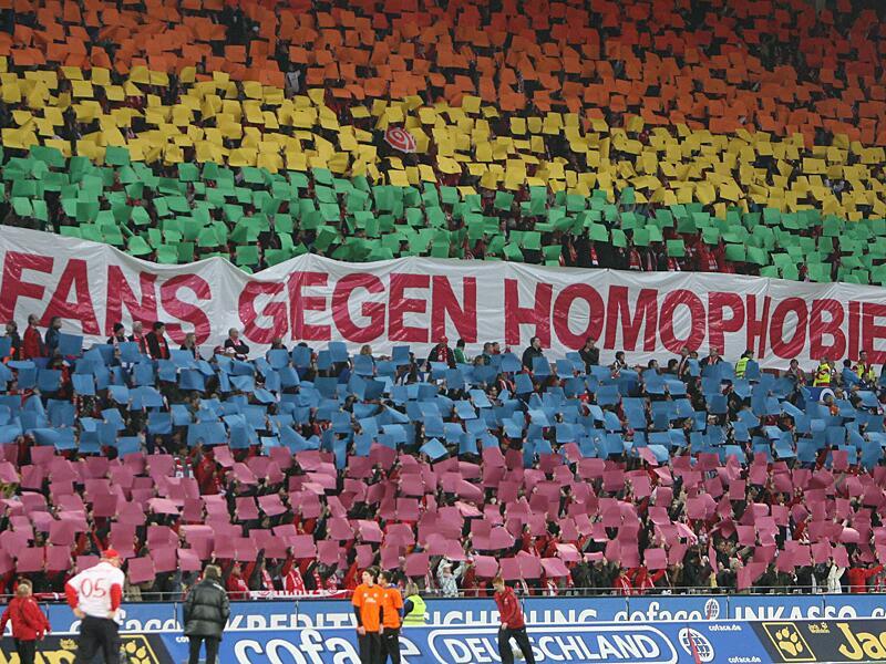 Bild zu Fans gegen Homophobie