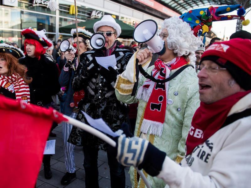 Bild zu Demonstration in Köln