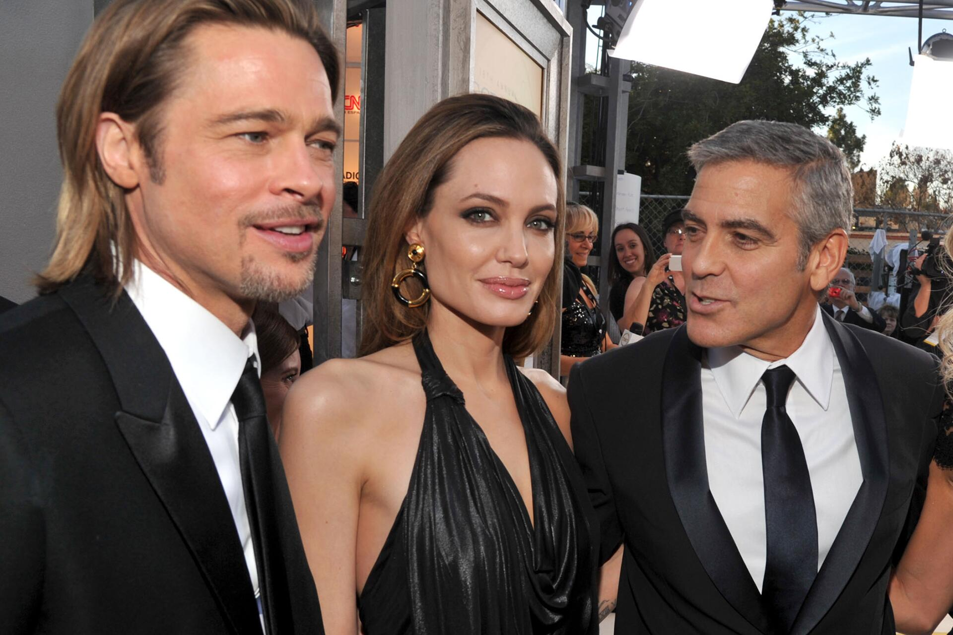 Bild zu George Clooney, Brangelina, Brad Pitt, Angelina Jolie, Scheidung
