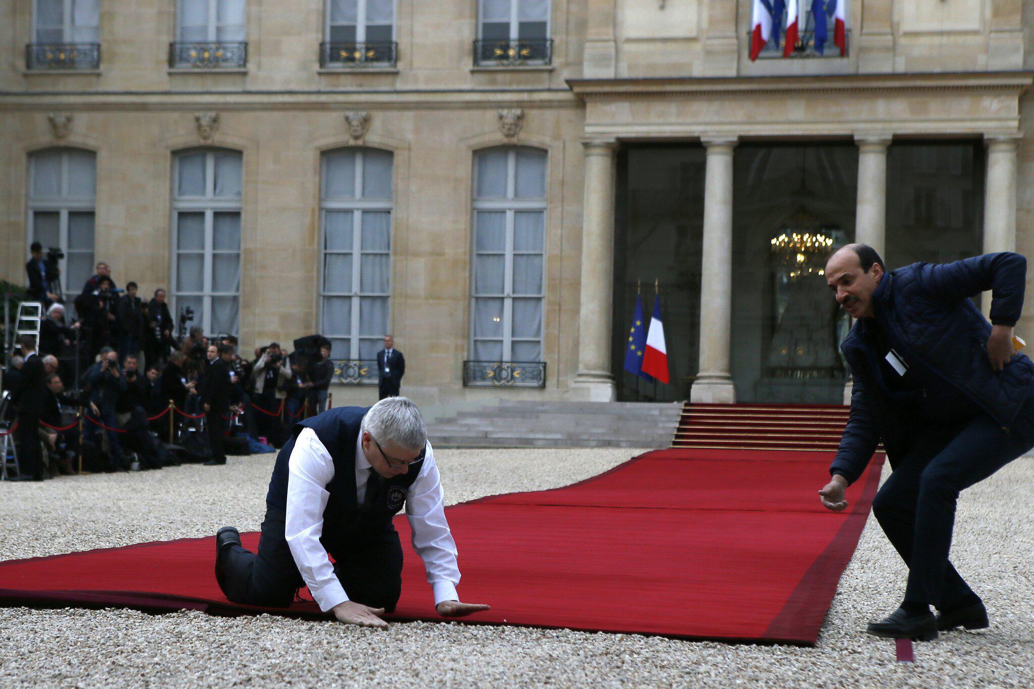 Bild zu Amtseinführung des neuen französischen Präsidenten Macron