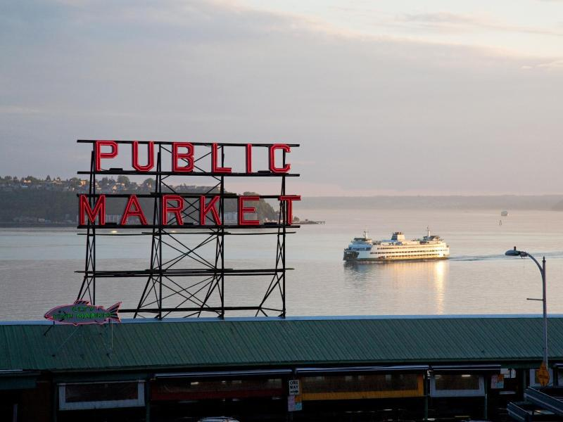 Bild zu Pike Place Market in Seattle