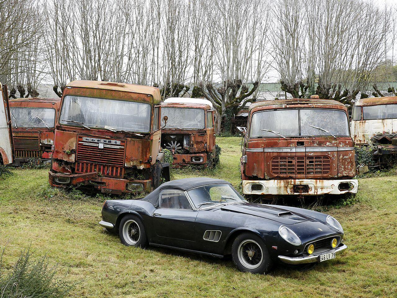 Bild zu Ferrari von Alain Delon