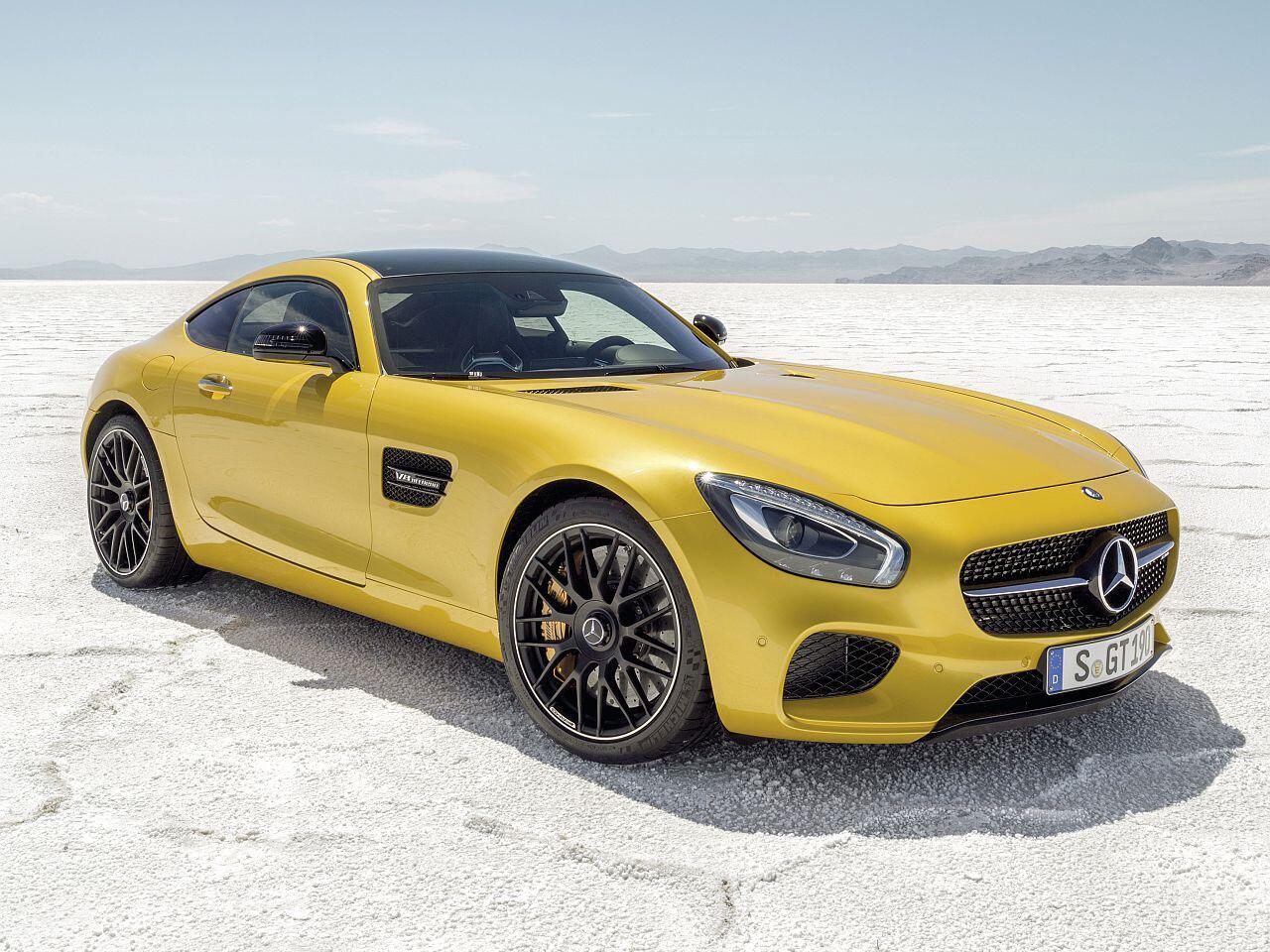 Bild zu Mercedes-Benz AMG GT