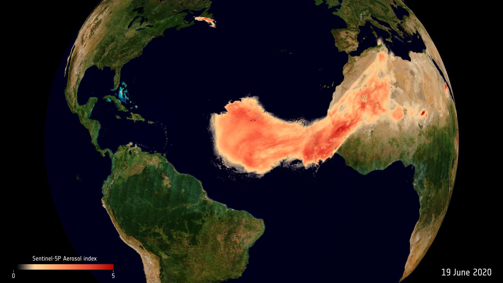 Bild für Saharastaub