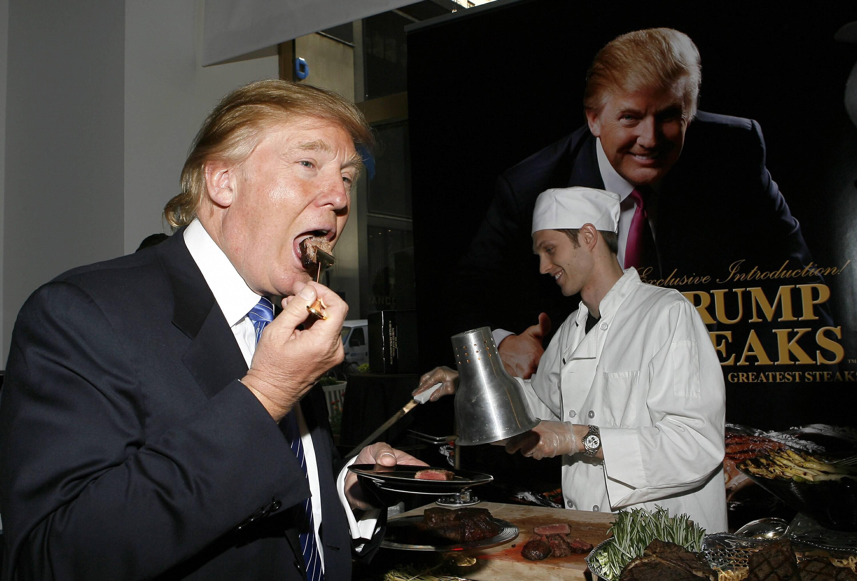 Bild zu Donald Trump, kuriose Fakten, Präsident