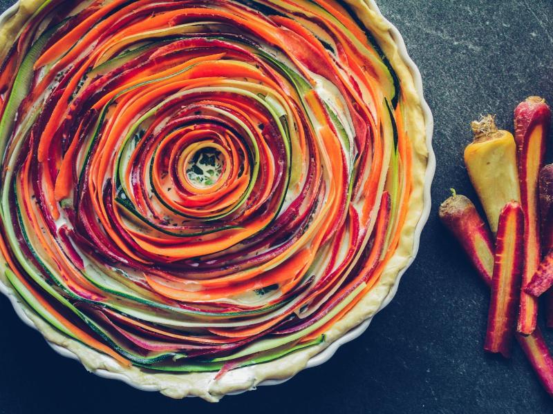 Bild zu Möhren-Zucchini-Quiche