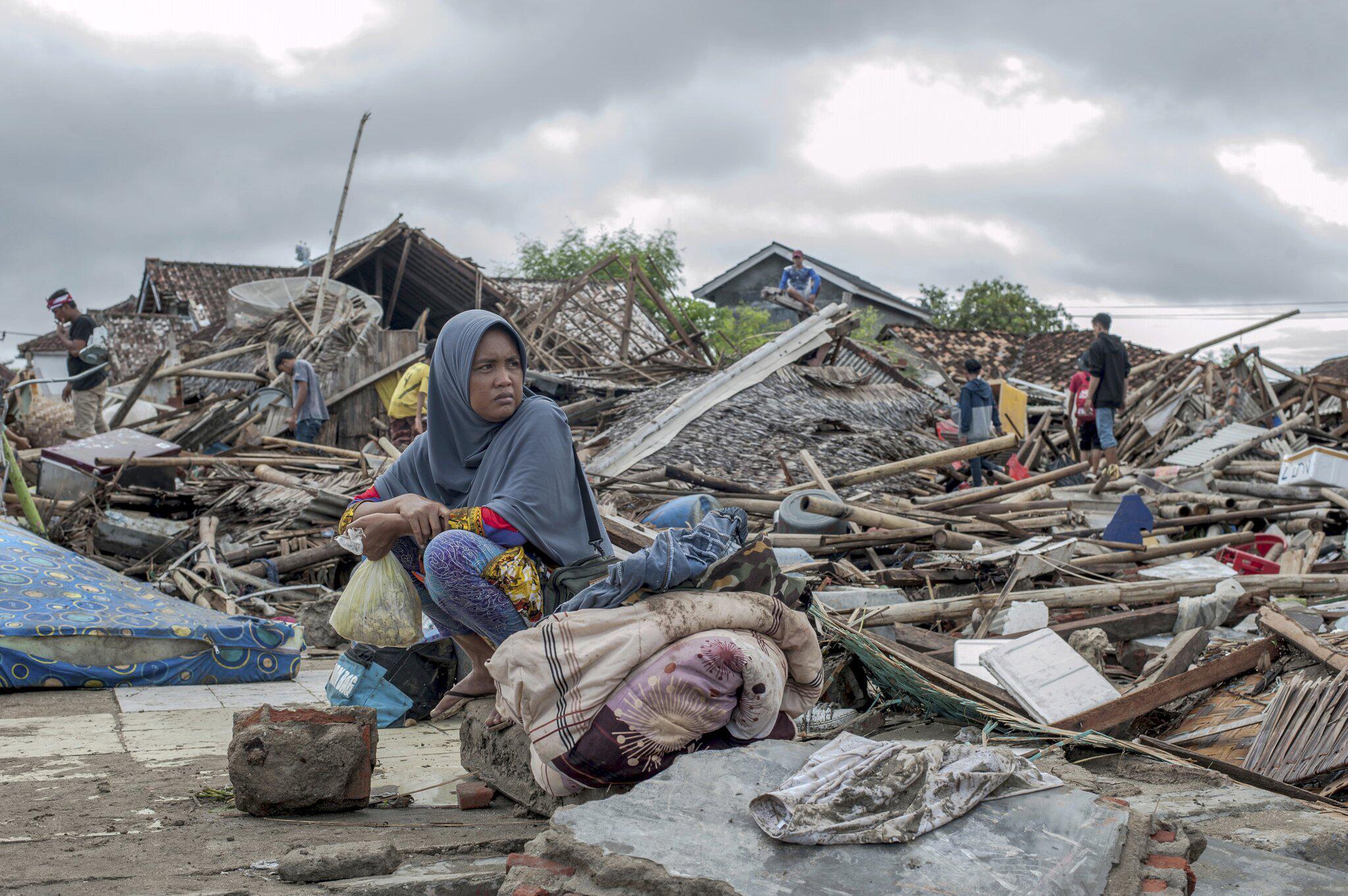 Bild zu Tsunami in Indonesien
