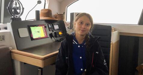 Greta Thunberg segelt zu Weltklimakonferenz
