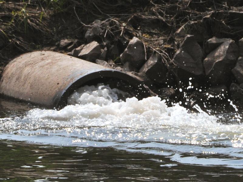 Bild zu Abwasser fließt in Philippsthal