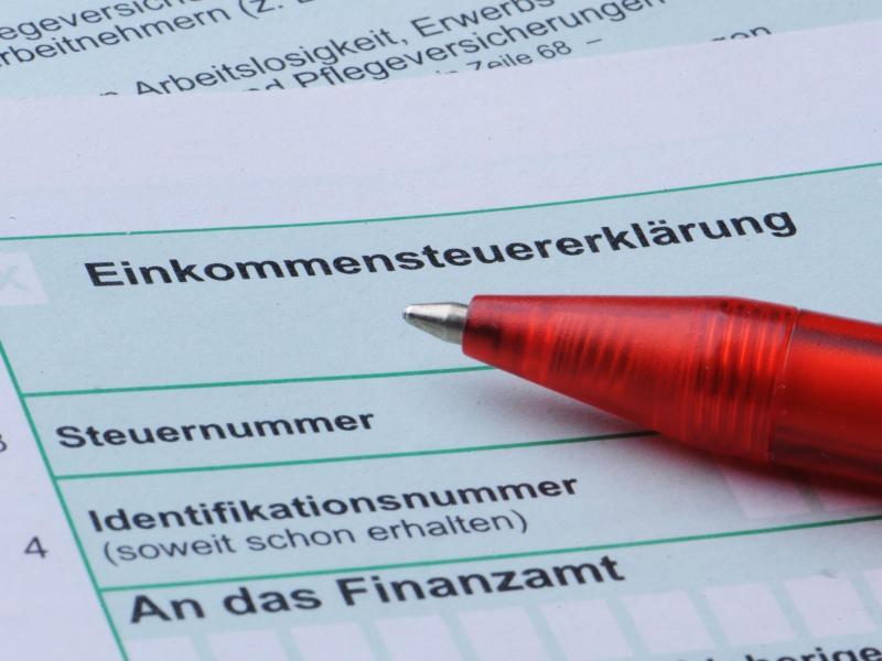 Bild zu Einkommenssteuererklärung
