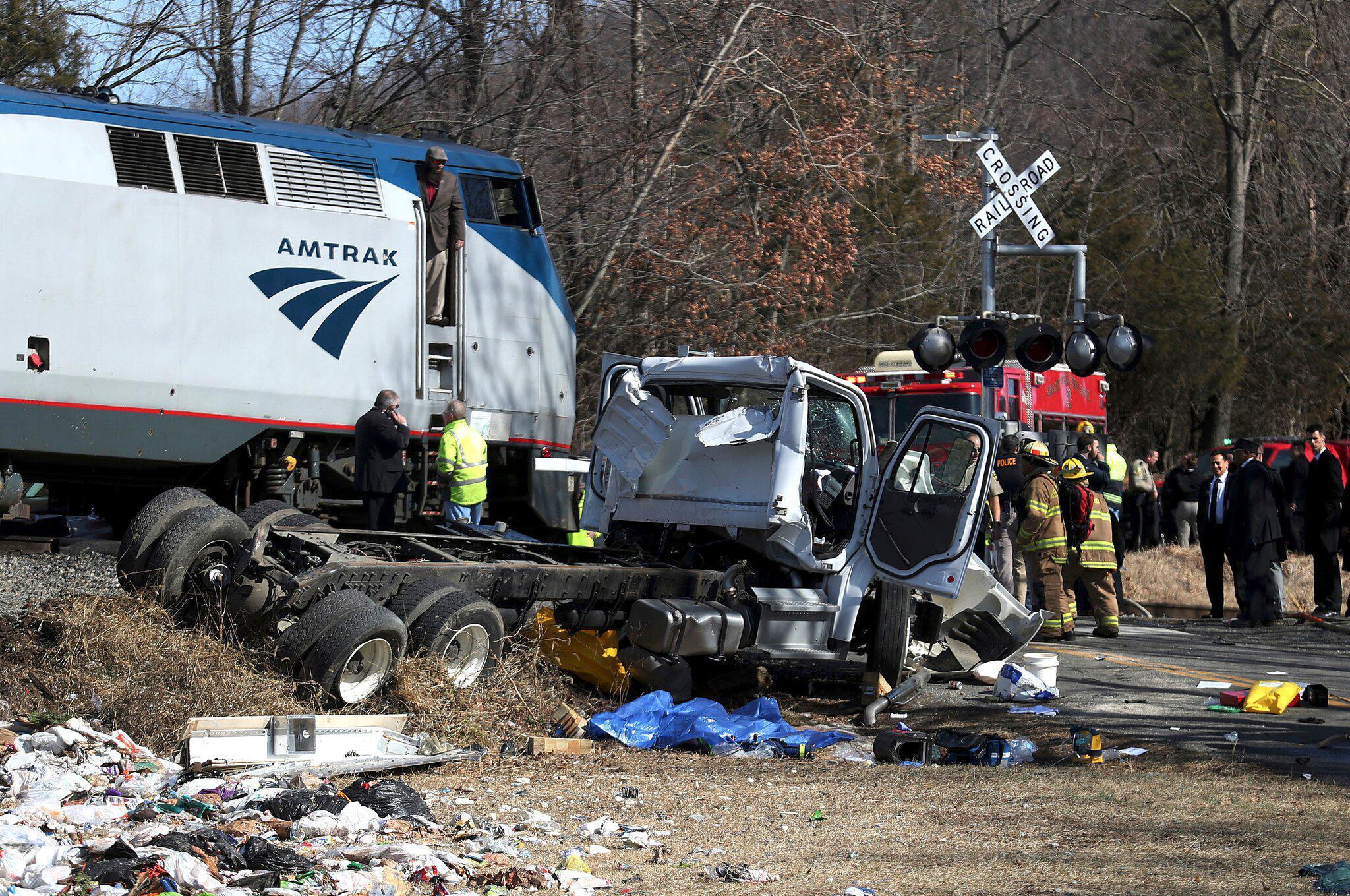 Bild zu Zusammenprall, Republikaner, Sonderzug, Müllauto