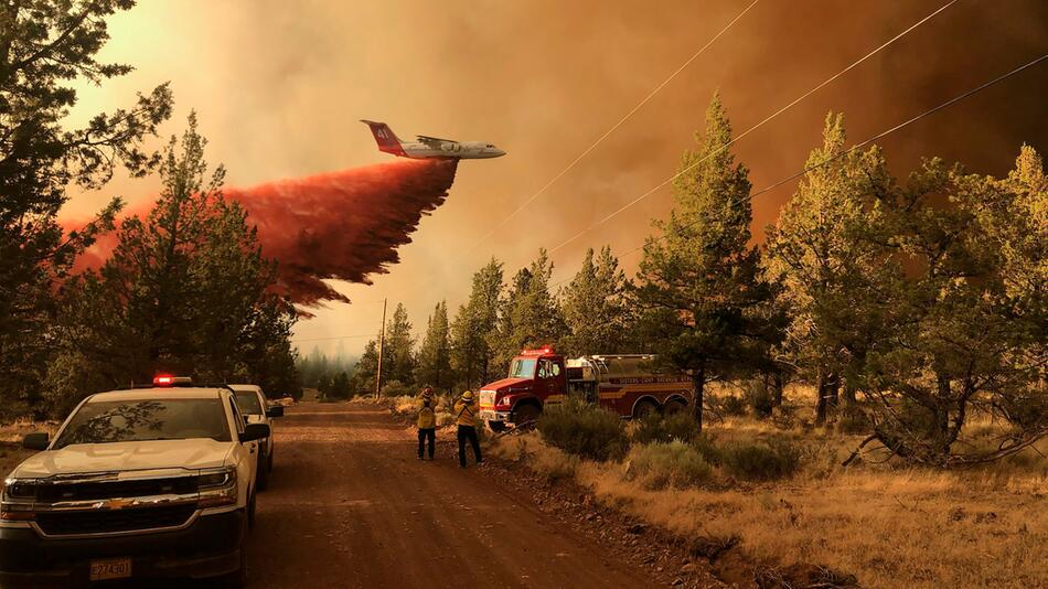 Waldbrände in den USA - Oregon