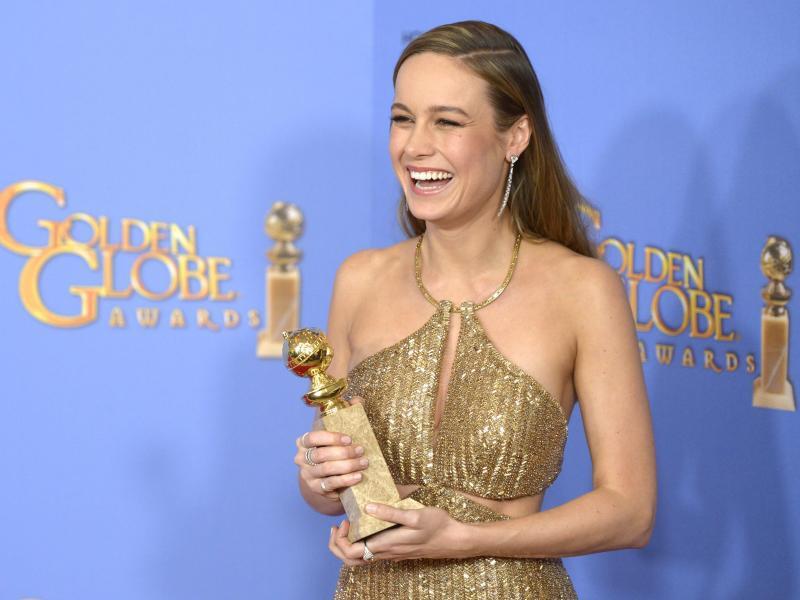 Bild zu Golden Globes - Brie Larson