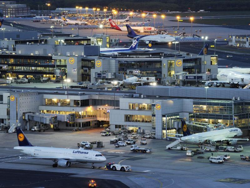 Bild zu Frankfurter Flughafen