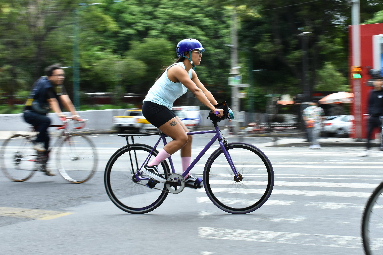Bild zu Fahrradfahrerin