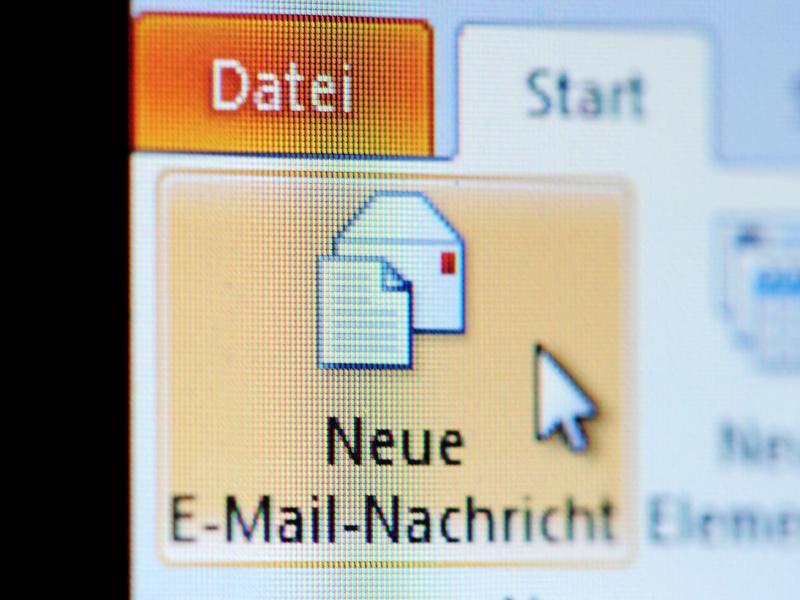 Bild zu Antwort auf eine E-Mail