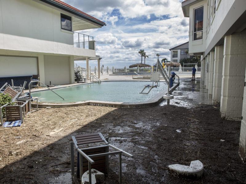 Bild zu Folgen eines Hurricanes in Florida